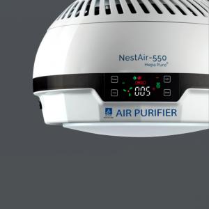 NestAir 550™ Ceiling Mount Air Purifier HEPA PURE ®